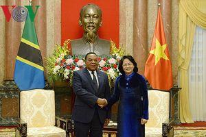 Quyền Chủ tịch nước: Việt Nam coi trọng quan hệ với Tanzania