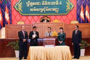 Thượng viên Campuchia bầu ông Sim Ka làm Phó Chủ tịch thứ nhất