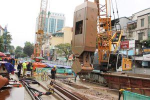 FECON triển khai thi công tường vây ga ngầm S10 metro Nhổn – ga Hà Nội