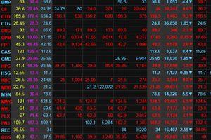 Đua nhau bán tháo, VN-Index 'rơi' gần 50 điểm