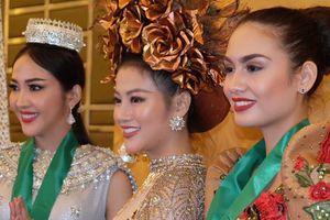 Đại diện Việt Nam đoạt Huy chương vàng trang phục dân tộc Miss Earth 2018