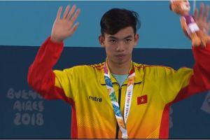 Nguyễn Huy Hoàng xuất sắc giành HCV Olympic trẻ