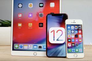 Hơn một nửa iPhone, iPad toàn cầu đã lên iOS 12 dù nhiều lỗi