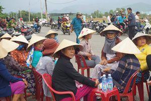 Người dân Đà Nẵng dựng trại, phong tỏa nhà máy thép Dana Ý