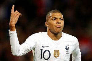 Kylian Mbappe tạo kỷ lục mới ở đội tuyển Pháp