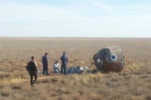 Phi hành gia Nga, Mỹ thoát chết sau khi tàu vũ trụ gặp sự cố
