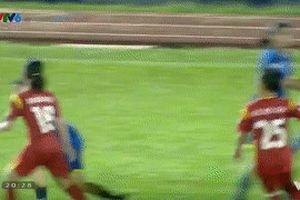 Video xô xát giữa cầu thủ nữ TP HCM I và Than KSVN