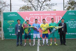 6 đội bóng tranh hùng tại giải bóng đá Agricup 2018 tranh cúp Agribank