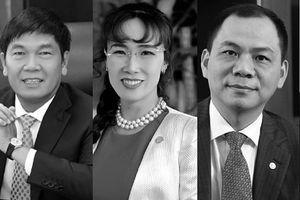 Chứng khoán đỏ sàn: Tài sản của 3 tỷ phú Việt bốc hơi nghìn tỷ