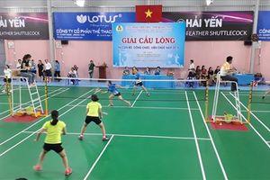 Khai mạc Giải cầu lông nữ cán bộ Công đoàn Viên chức tỉnh Quảng Nam lần thứ nhất