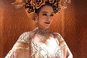 Soi trang phục dân tộc giúp Phương Khánh giành giải vàng Miss Earth