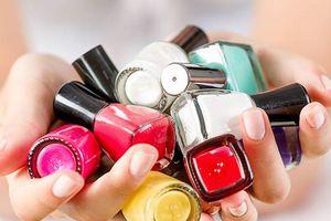 Nhiều loại sơn móng tay ở Mỹ có chứa chất gây ung thư