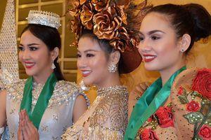 Đại diện Việt Nam giành HCV trang phục dân tộc ở Hoa hậu Trái đất