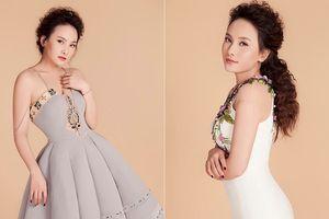'Nàng dâu' Bảo Thanh mặc đầm đuôi cá bó sát khoe đường cong quyến rũ