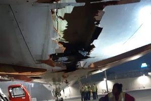 Máy bay chở 136 hành khách đâm trúng tường vẫn vô tư cất cánh