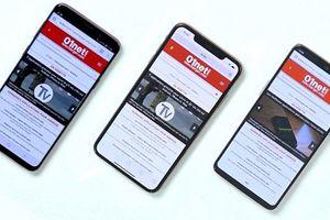iPhone XS Max 'ăn đứt' Galaxy S9 Plus và OnePlus 6 trong cuộc thi tốc độ