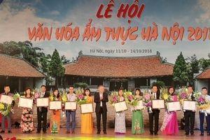 Tôn vinh giá trị văn hóa ẩm thực truyền thống đất Hà Thành