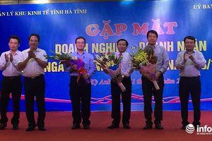 Các DN tại KKT Vũng Áng đóng góp lớn trong việc thu ngân sách cho Hà Tĩnh