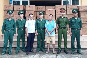 Đối tượng người Trung Quốc vận chuyển hơn 2.500 kg pháo vào Việt Nam