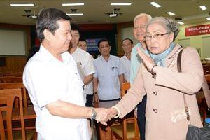 Viện trưởng Lê Minh Trí tiếp xúc cử tri tại TP. Hồ Chí Minh