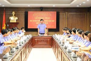 Khai mạc thi tuyển Kiểm sát viên cao cấp đợt 1 năm 2018
