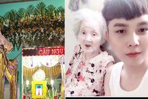 Khóc nghẹn trong lễ di quan con trai, mẹ của chàng 'cháu ngoại quốc dân' Nguyễn Ngọc Phú: 'Phú ơi con đi đâu rồi?'