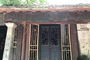 Khu di tích danh nhân Nguyễn Văn Siêu cần sớm được tôn tạo