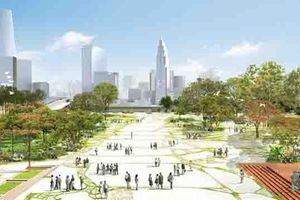 Xây dựng quảng trường lớn nhất TP.HCM