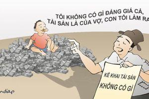 Kiểm soát tài sản, thu nhập trong phòng, chống tham nhũng