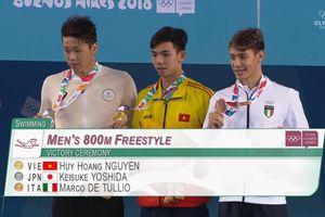 Kình ngư Huy Hoàng giành HCV Olympic trẻ