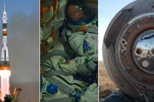Phi hành gia Nga, Mỹ thoát chết trong gang tấc
