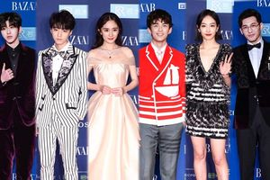 Đêm hội từ thiện Bazaar 2018: Dương Mịch xinh như công chúa bên Vương Tuấn Khải, Thái Từ Khôn và Ngô Lỗi