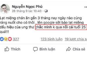 Cháu ngoại của cụ bà 'xì tin nhất Việt Nam' đã đăng những dòng trạng thái dự báo về cái chết trước khi mất