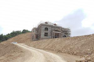 Thanh Hóa: Công ty Công Thanh san cả quả đồi để xây biệt thự không phép