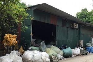 Phường Trung Văn, quận Nam Từ Liêm: Loay hoay xử lý hàng loạt xưởng tái chế nhựa gây ô nhiễm