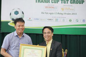 Lần đầu tiên có giải bóng đá phong trào dành cho công nhân vệ sinh môi trường