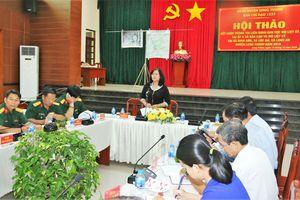 Chuẩn bị lễ an táng hài cốt liệt sĩ tìm thấy tại xã Bàu Cạn