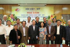 Tăng cường quan hệ hữu nghị, hợp tác giữa nhân dân hai nước Việt Nam – Mỹ