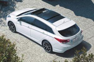 Xe gia đình Hyundai i40 2019 gây ấn tượng với mức tiêu thụ nhiên liệu 4,3 lít / 100km