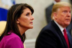 Cuộc đua vào vị trí Đại sứ Mỹ tại Liên Hợp Quốc thay bà Nikki Haley