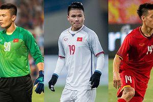 Đội hình kết hợp giữa Hà Nội FC và FLC Thanh Hóa ở ĐT Việt Nam