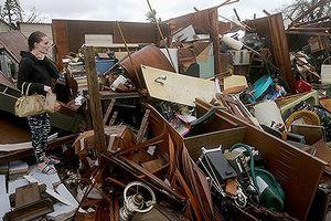 Kinh hoàng cảnh tượng tan hoang khi siêu bão Michael càn quét qua Mỹ