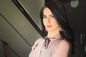 Nhan sắc lôi cuốn của Hoa hậu Iraq Qasim vừa bị đe dọa giết chết