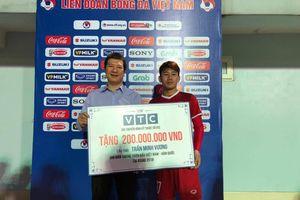 Trợ lý Lee phụ đạo riêng Xuân Trường, Minh Vương nhận thưởng 200 triệu đồng