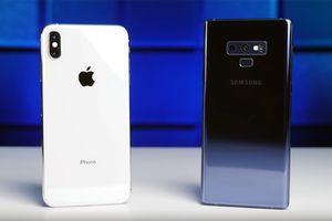 iPhone XS Max thua Note 9 trong loạt thử nghiệm sức mạnh của pin