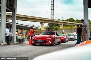Bãi đỗ xe phong cách Daikoku Futo Nhật Bản trong lòng Kuala Lumpur