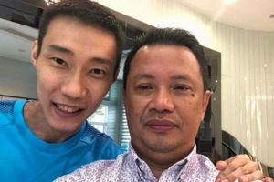 Lee Chong Wei sút cân nghiêm trọng nhưng nụ cười đã trở lại