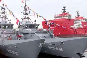 Bàn giao 2 tàu tuần tra cao tốc cho Bộ đội Biên phòng