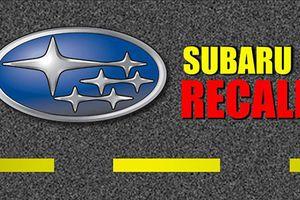 Triệu hồi hơn 27.000 xe Subaru Legacy và Outback dính lỗi