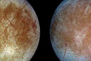 Lạ: Nhiều cấu trúc gai băng lởm chởm trên Mặt trăng sao Mộc